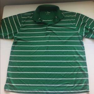 Men's Green Golf Polo Shirt